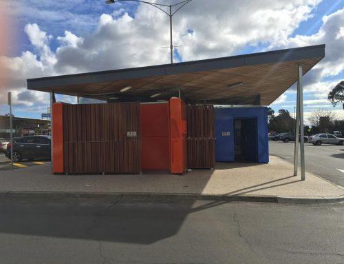 Pine wood Shopping Centre public toilet upgrade
